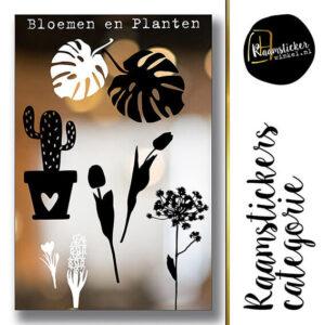 Raamstickers Bloemen & Planten