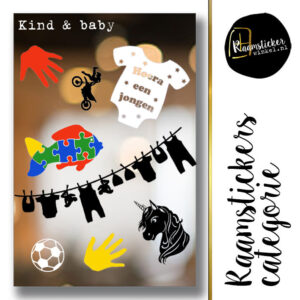 Raamstickers Baby & Kind