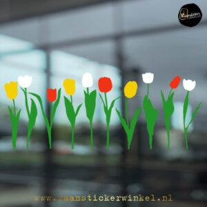 Raamsticker tulp tulpen RSW